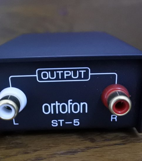 Ortofon ST-5 Stepup Transformer ¥27,000