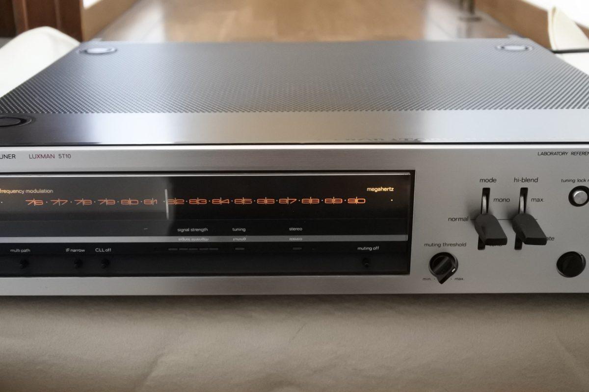 Luxman 5T10 FM tuner ¥43,200