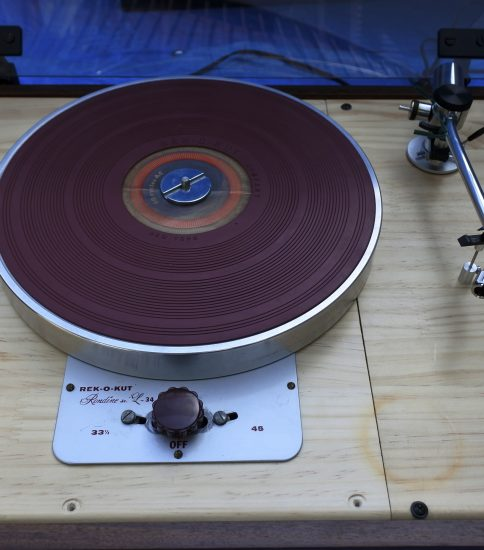 Rek-o-kut Londine jr.34 LP Record Player ¥Sold out!