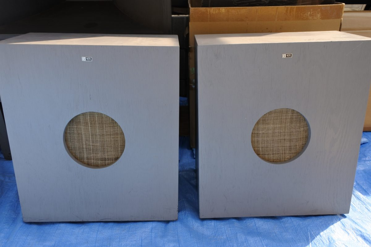Speaker Cabinet for 8″(20cm) like Altec618B  ¥75,600/Pair