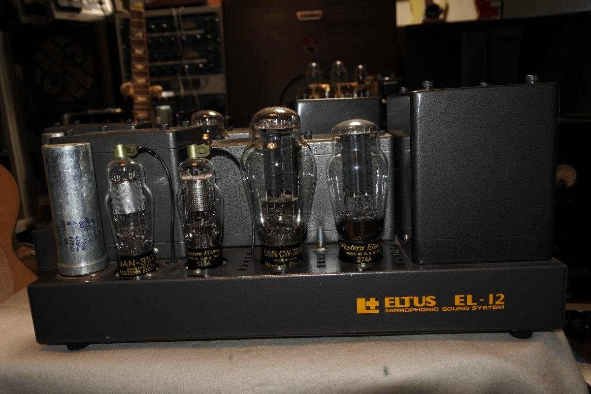 ELTUS EL12QQ 300BSE Mono Amplifiers ¥Sold out!!