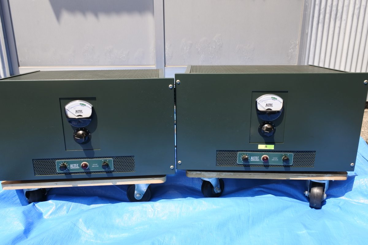 Altec 1570 BT Power Amplifiers ¥972,000/Pair
