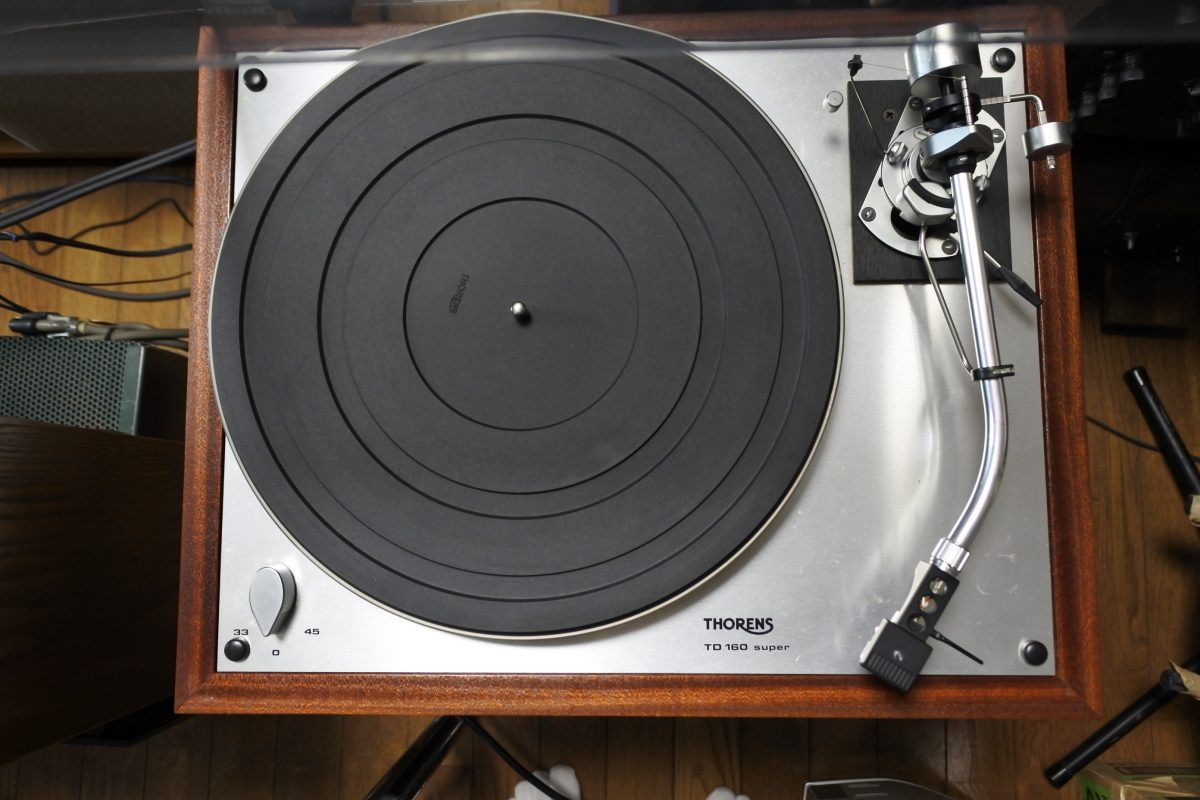 Thorens TD-160 super+SME3009 S2 Imploved+Shure M-44G ¥Sold out!!