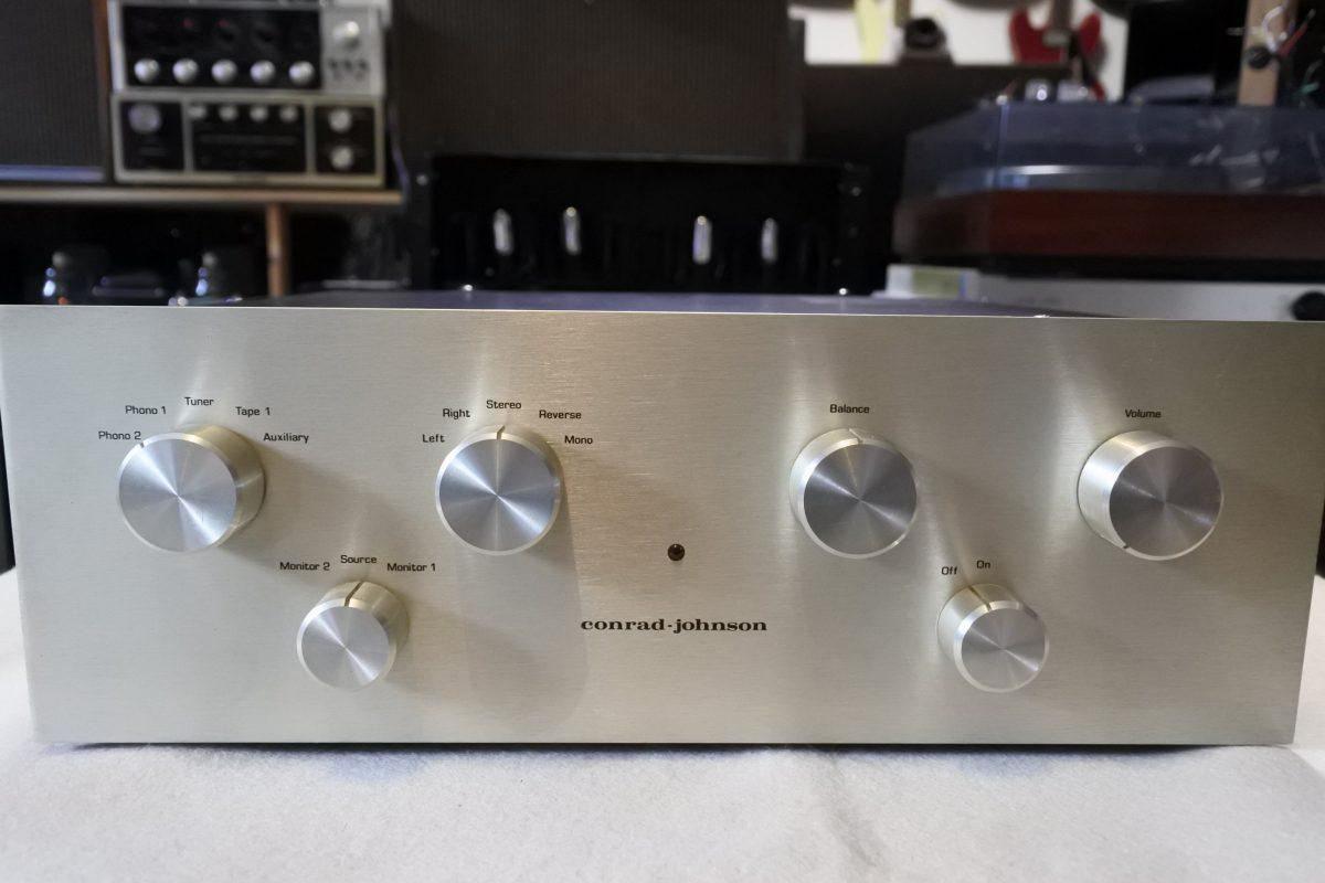 Conrad Johnson PV-1 Stereo Tube Preamplifier  ¥129,600