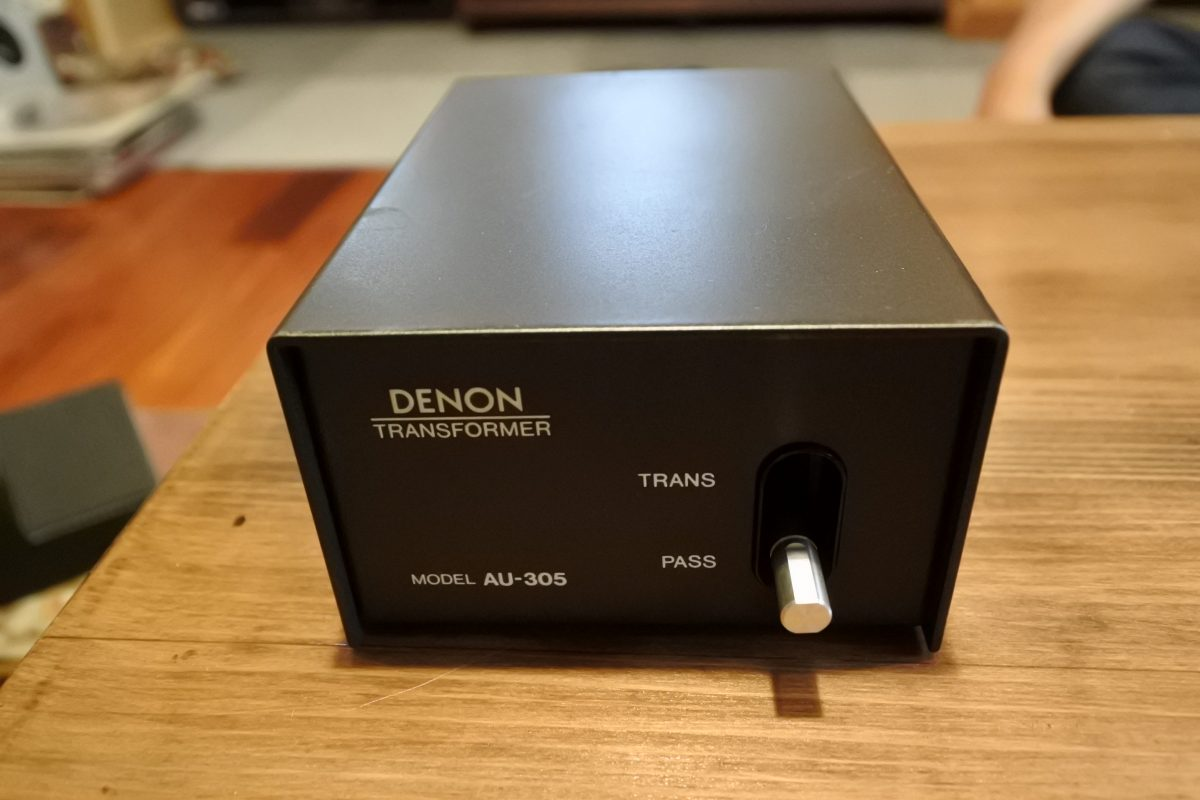 Denon AU-305 Step up Transformer for MC cartridge ¥Sold out!!