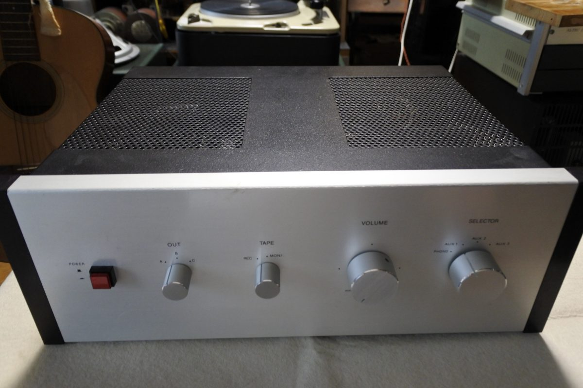 Custom made tube type stereo preamplifier with CR-EQ  ¥Sold out!!