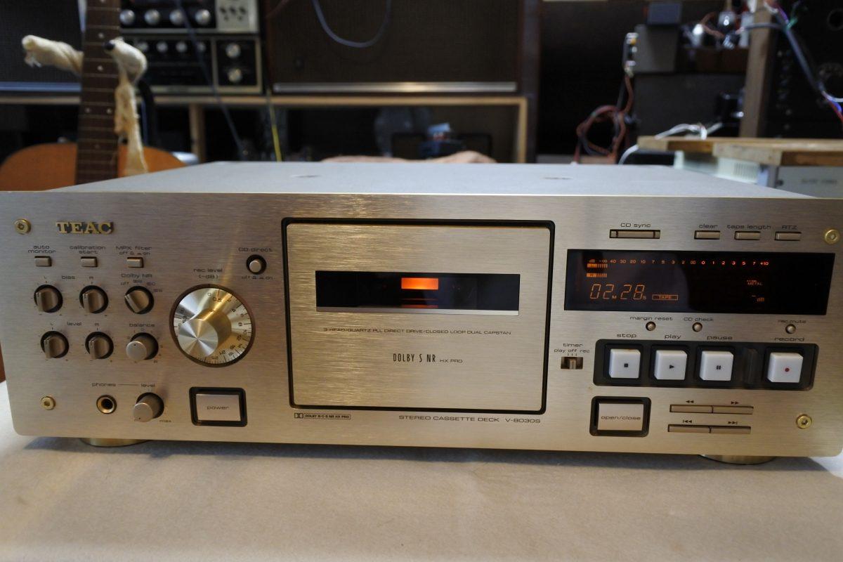 Teac V-8030S Cassette Deck ¥Sold out!!