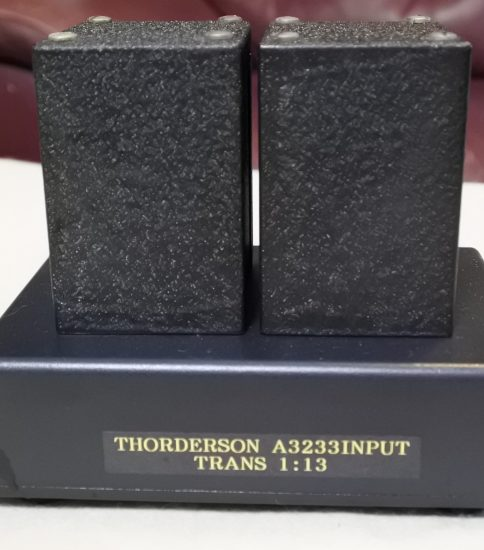 Thordarson A-3233 MC step-up transformers ¥64,800