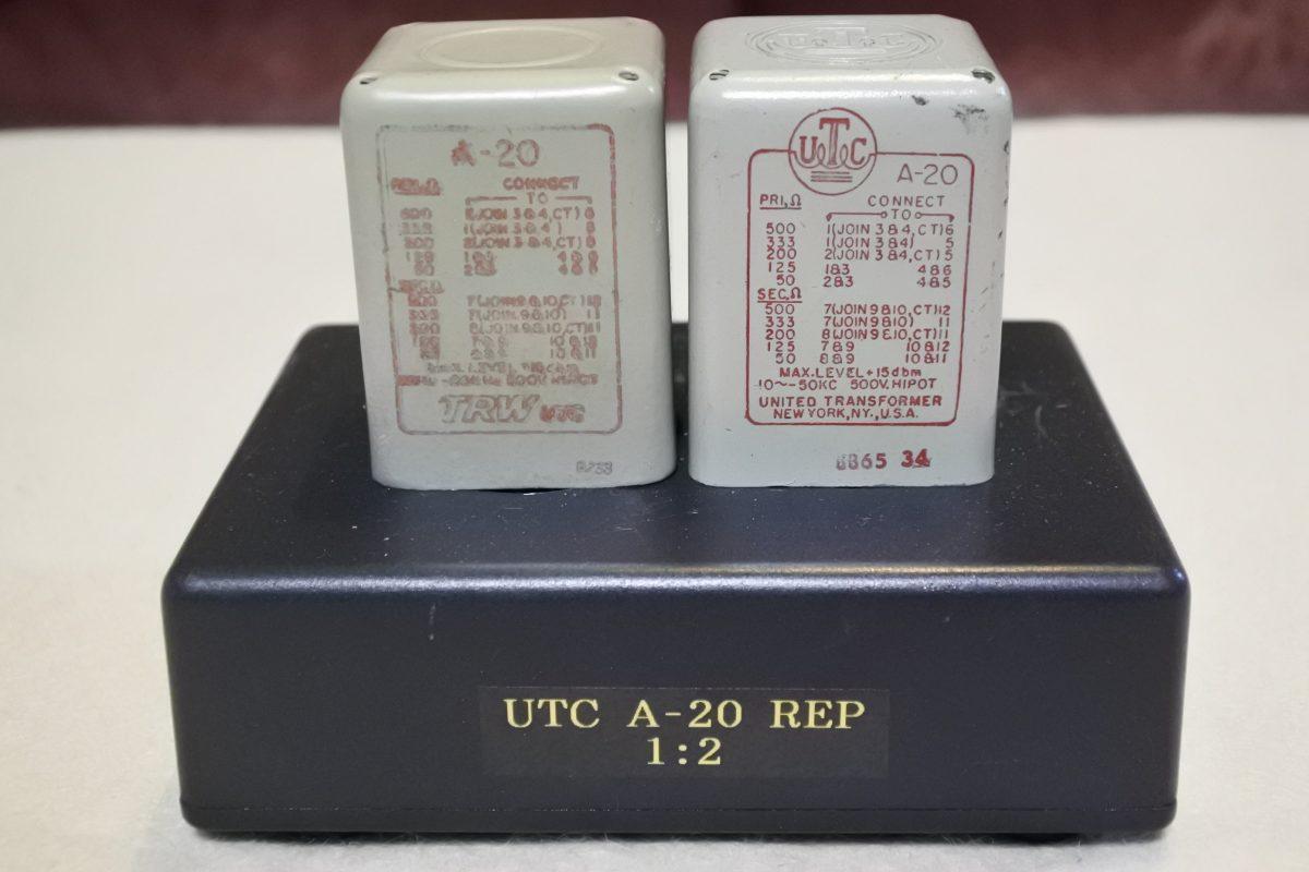 UTC A-20 Repeating transformers ¥37,800