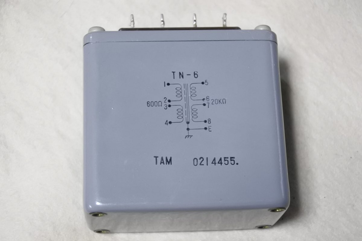 Tamradio TN-6 Input transformer ¥Sold out!!