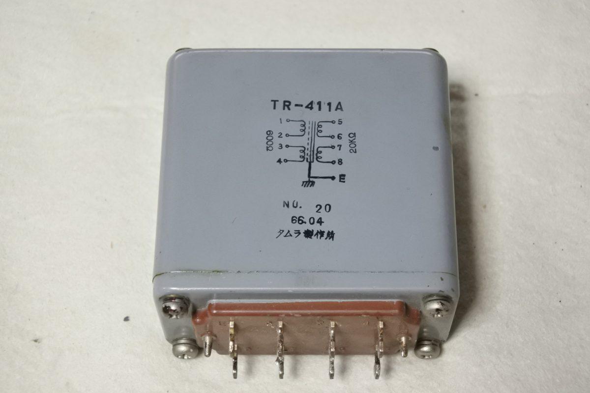 Tamradio TR-411A Input transformer ¥27,000