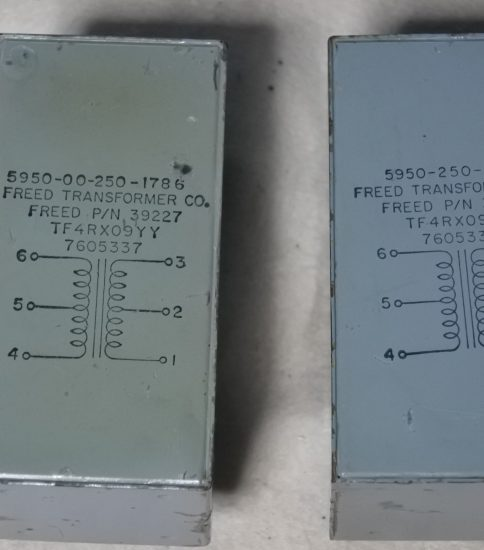 Freed Line output transformers ¥43,200/Pair
