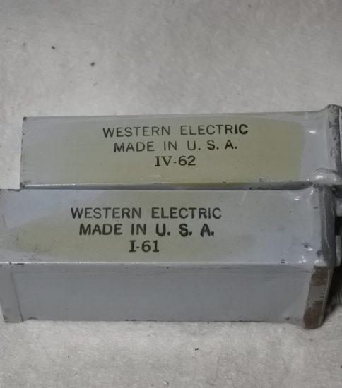 Western Electric 481C caps ¥21,600/Pair
