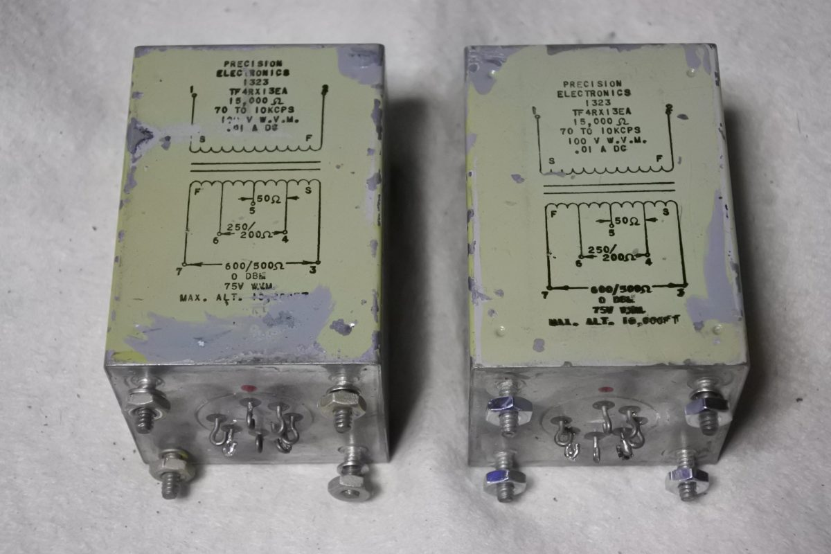 Precision Electronics SE Line output transformers ¥54,000/Pair