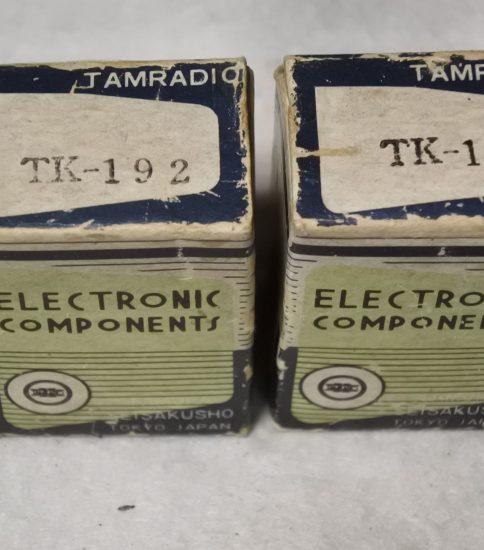 Tamradio TK-192 Choke coils ¥43,200/Pair