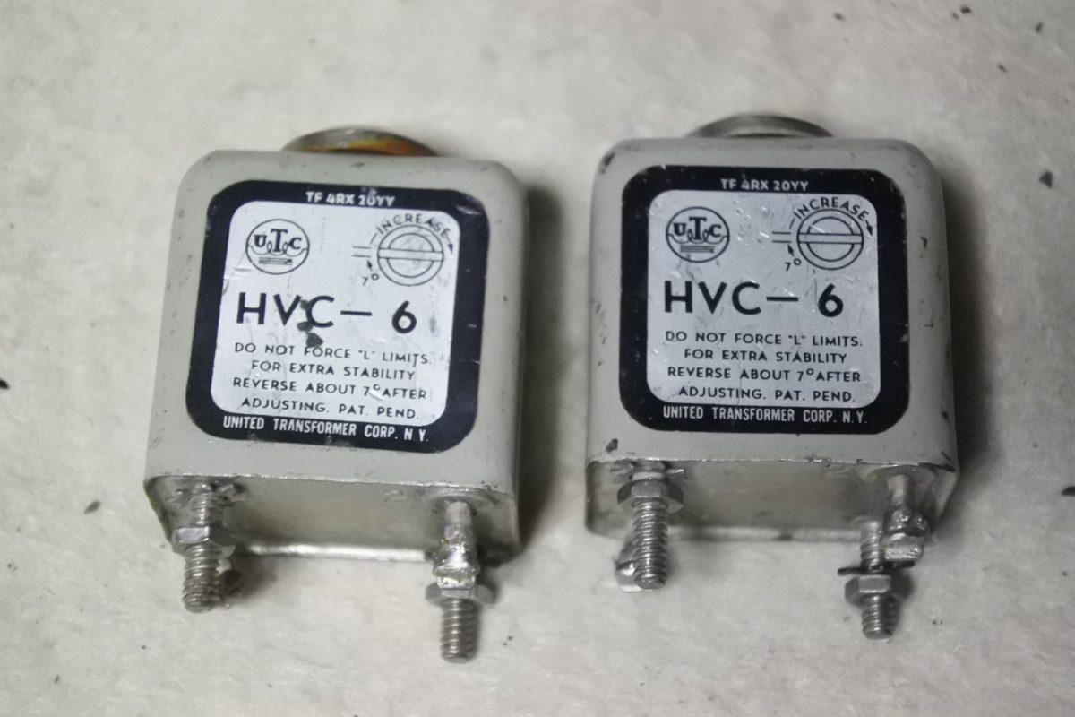 UTC HVC-6 Inductors ¥21,600/Pair