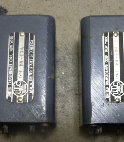 UTC HA-104 Interstage Transformers ¥108,000/Pair