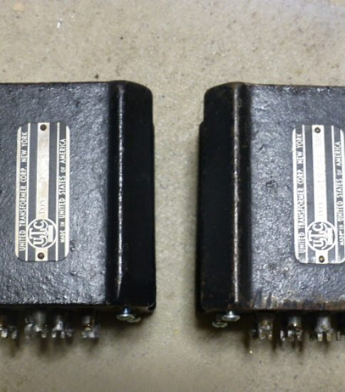UTC LS-21 Interstage Transformers ¥172,800/Pair