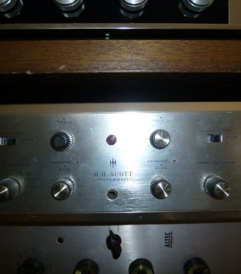 Scott Type 222C Stereo Amplifier ¥132,000