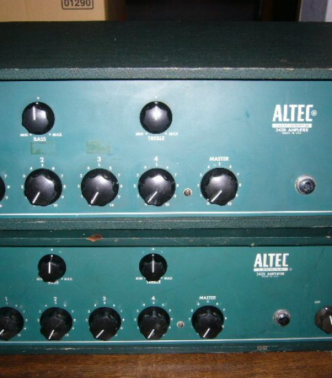 Altec 342B Powerd Mixer ¥440,000/Pair
