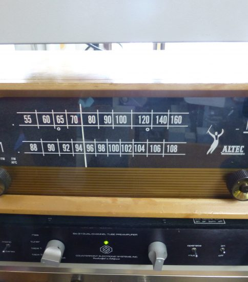 Altec 306A MONO AM/FM Tuner ¥77,000