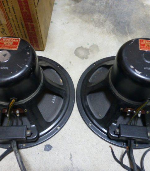Jensen C-10RS Field Coil Speakers ¥220,000