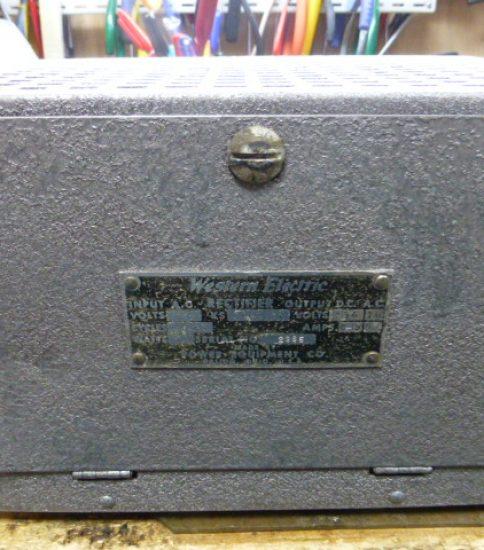 Western Electric Rectifier ¥108,000