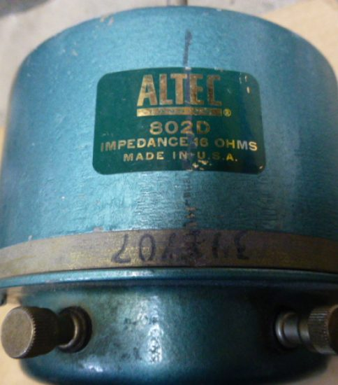 Altec 802D Driver ¥Sold out!!