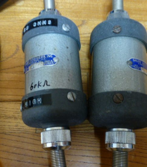 Shure A-86A Step Up Transformers ¥165,000/Pair