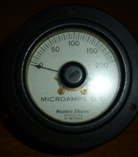 Western Electric D−167807 Meter ¥10,800