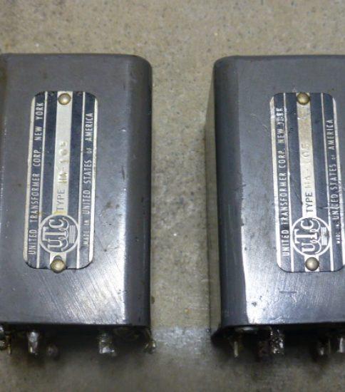 UTC HA-105 Interstrage Transformers ¥129,600/Pair