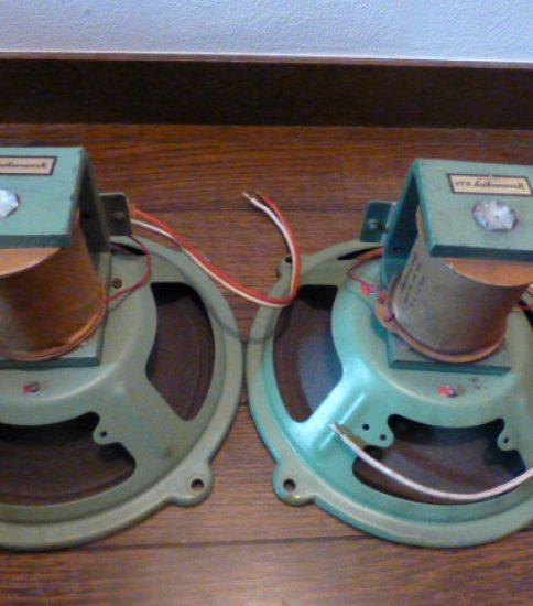Zachsenwerk GR3831 Field coil type speakers ¥88,000/Pair