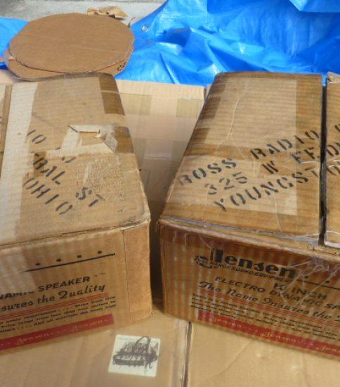 Jensen G10RS 10″ Field coil type speakers NIB ¥132,000/Pair
