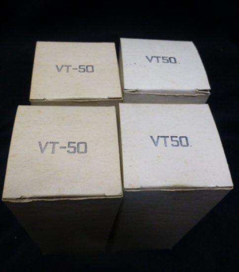 RCA VT50 (#50) tubes NIB ¥Sold out!!