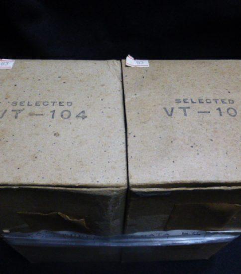 VT-104(PT15) tubes NIB ¥33,000/Pair