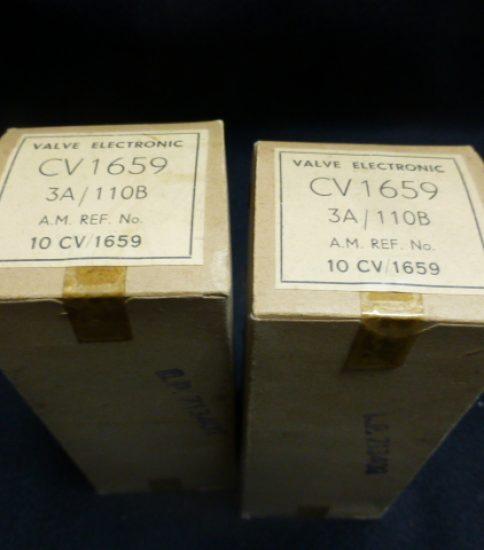 3A/110B CV1659 tubes ¥33,000/Pair