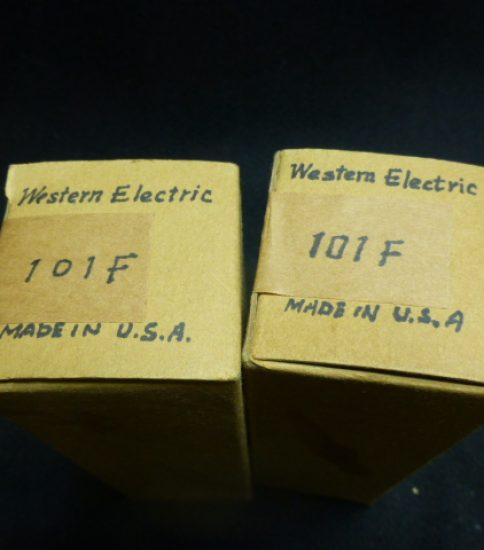 Western Electric 101F tubes ¥43,200/Pair