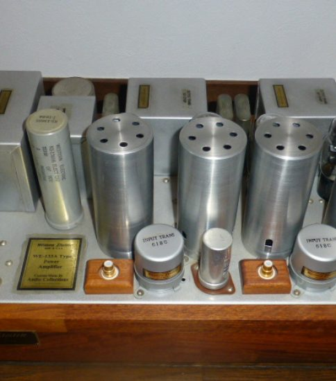 Audio collections WE133A type stereo power amplifier ¥Ask!!