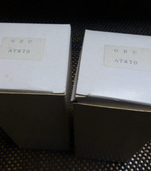 ATS70 tubes NIB ¥44,000/Pair