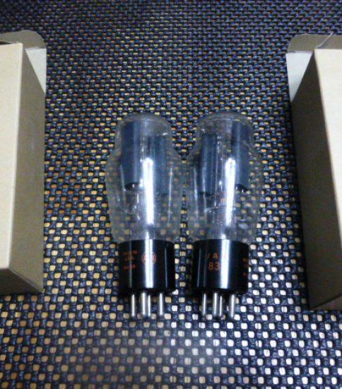 RCA 83 tubes NIB ¥22,000/Pair