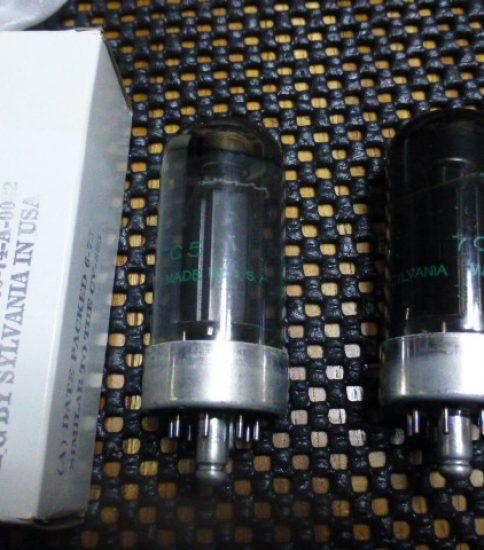 Sylvania 7C5 tubes NIB¥2,200/Each