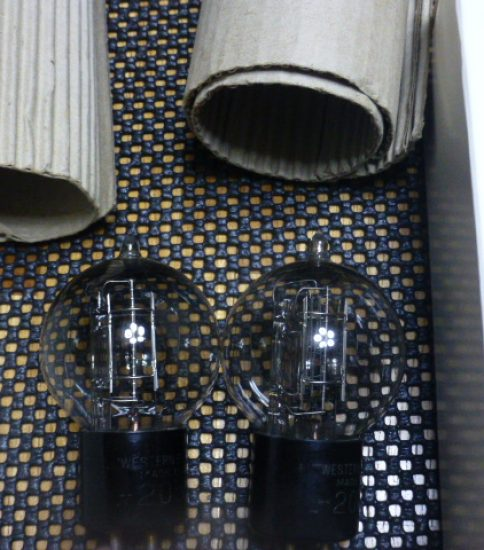 Western Electric 205D tubes ¥Sold out!!