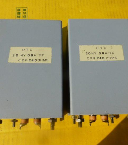 UTC Choke Coils ¥32,400/Pair