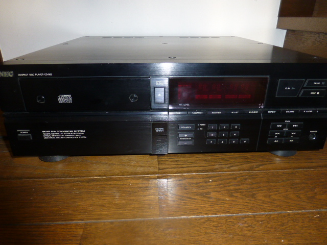 WEC5 商品紹介(Picture Items)NEC CD-903 CD player ¥Sold out!!