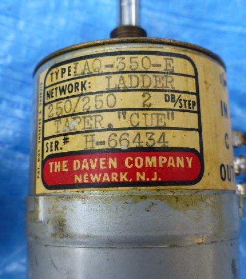 Daven LAQ350-E ATT ¥55,000/Pair