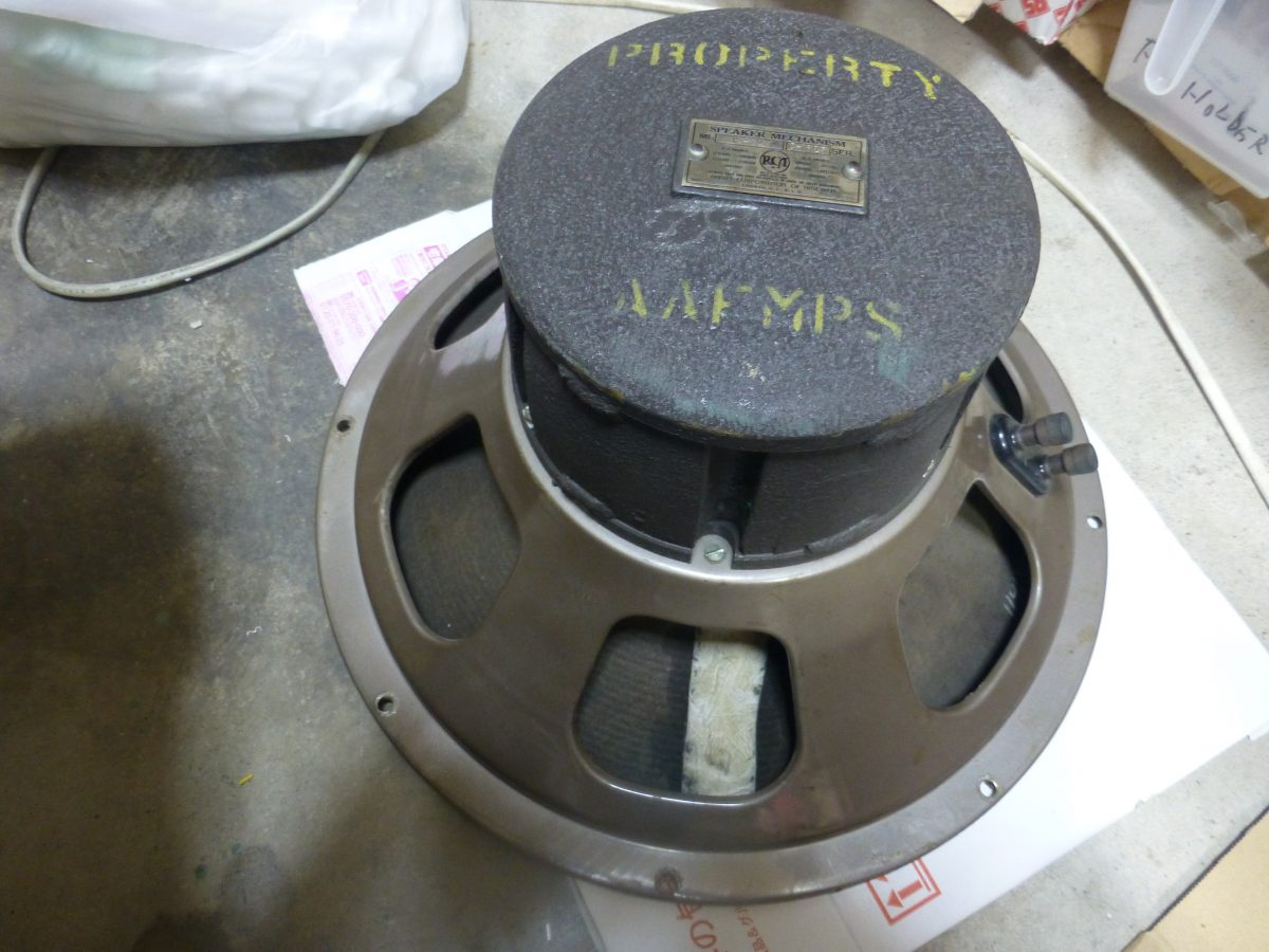 RCA MI-12432 15″(38cm) Woofer ¥Sold out!!