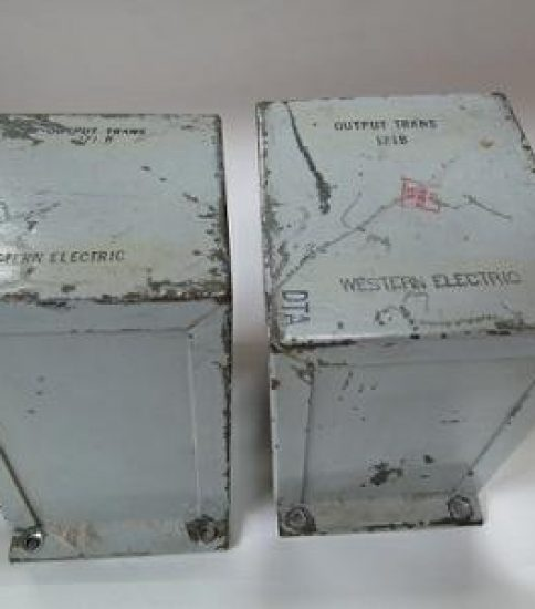 Western Electric 171B Output transformers ¥Ask!!