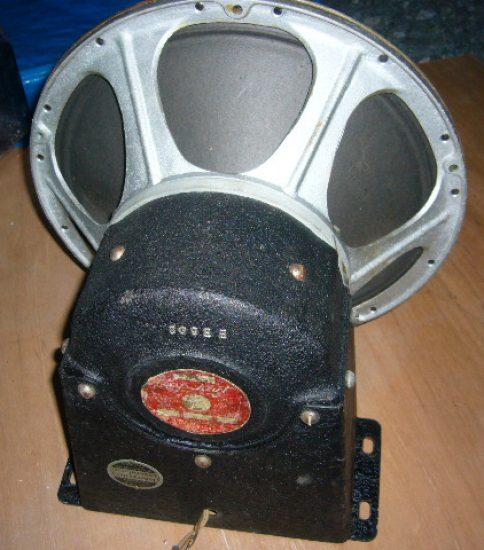 Capehart 13″ Fieldcoil speaker ¥495,000