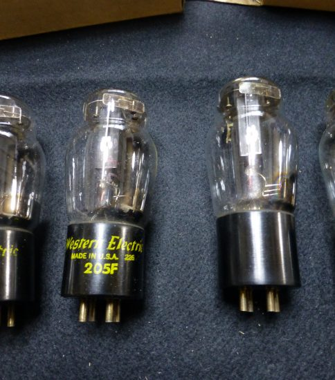 Western Electric 205F tubes ¥Ask!!