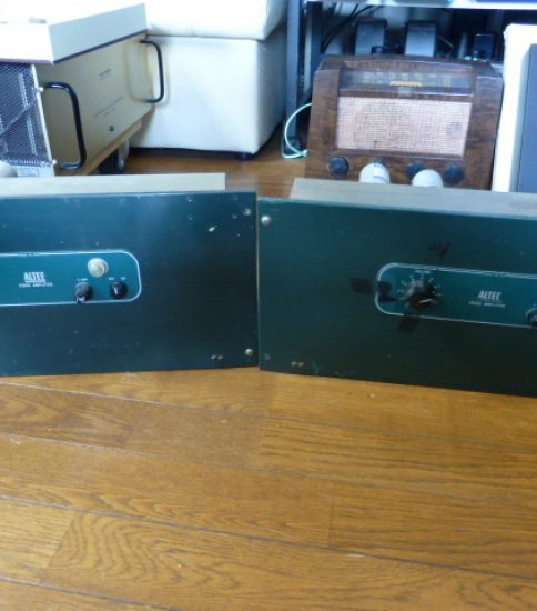 Altec 1569A EL34P,PP Power Amplifiers ¥440,000/Pair